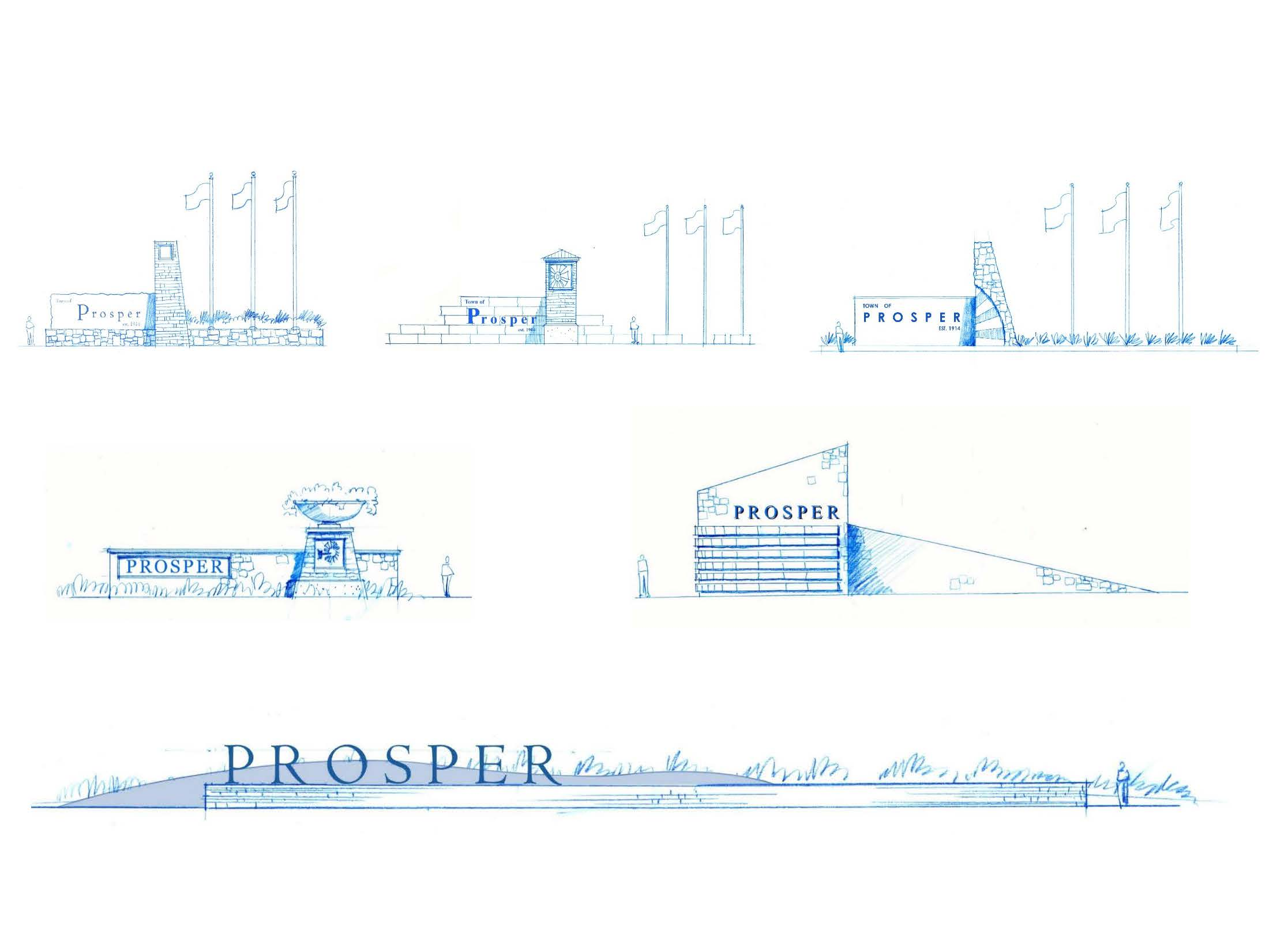 Town Council gets a look at proposed Gateway signage for Prosper