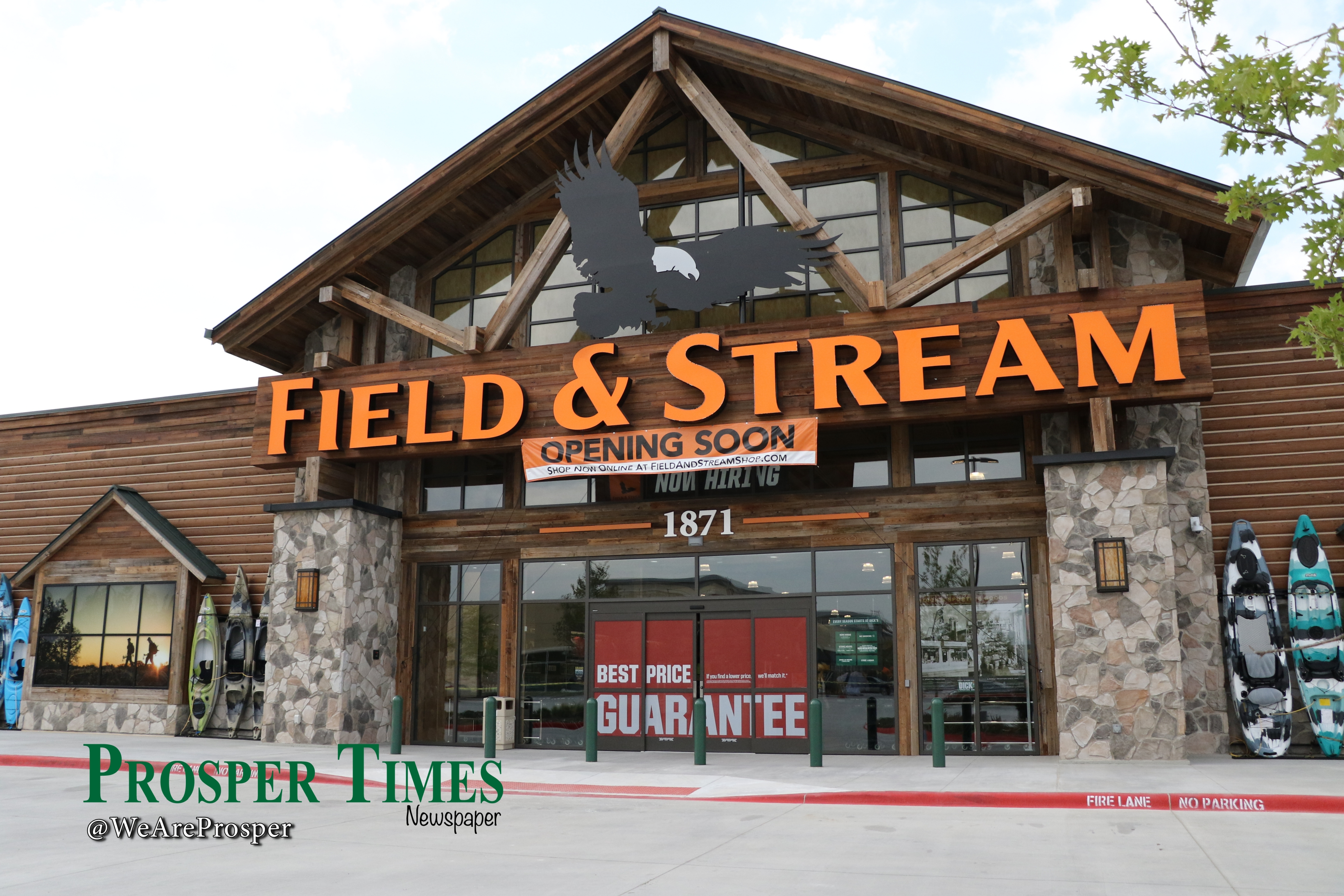 Dick's – Field and Stream First to Open in Gates Of Prosper