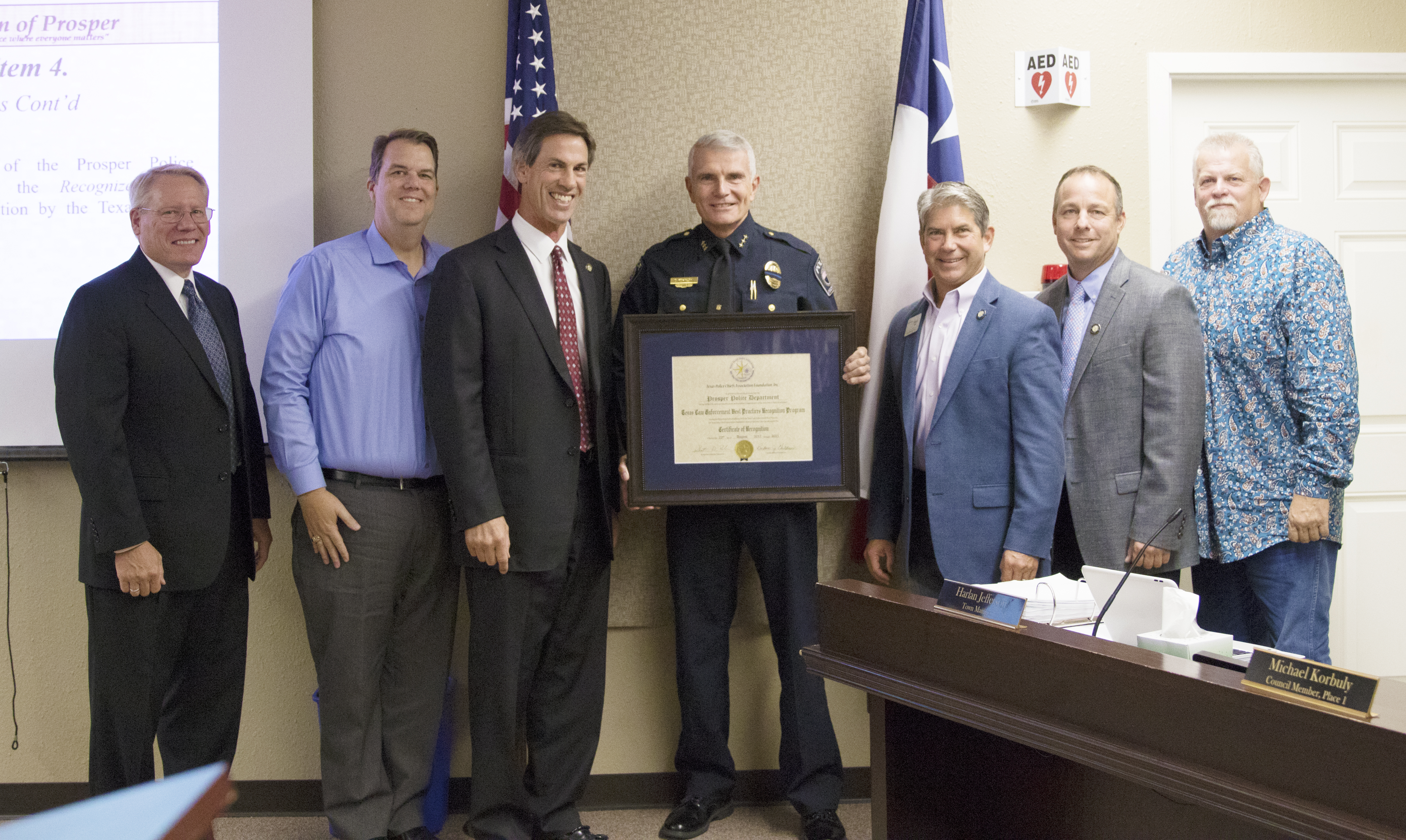 Prosper Police Department Receives Recognition