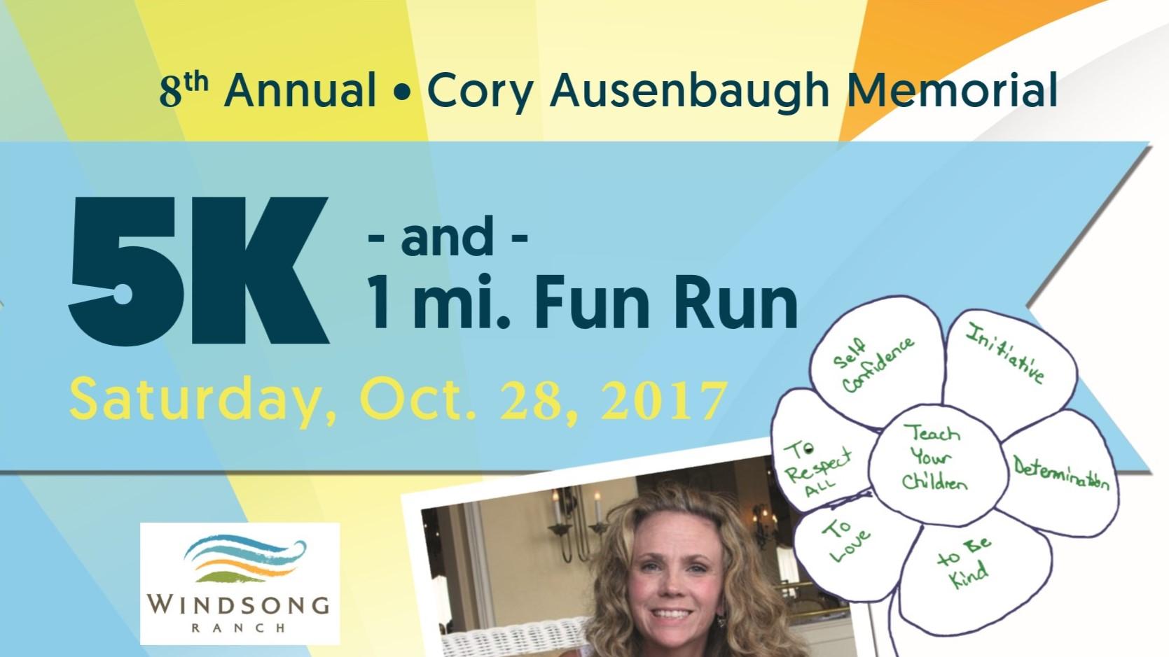 8th Annual Cory Ausenbaugh Memorial 5K and 1 Mile Fun Run