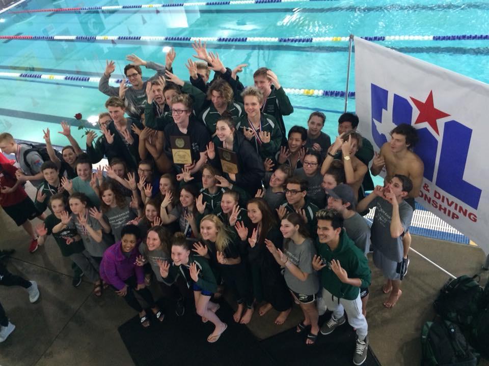 Prosper Swim and Dive Wins 8th District Championship!!