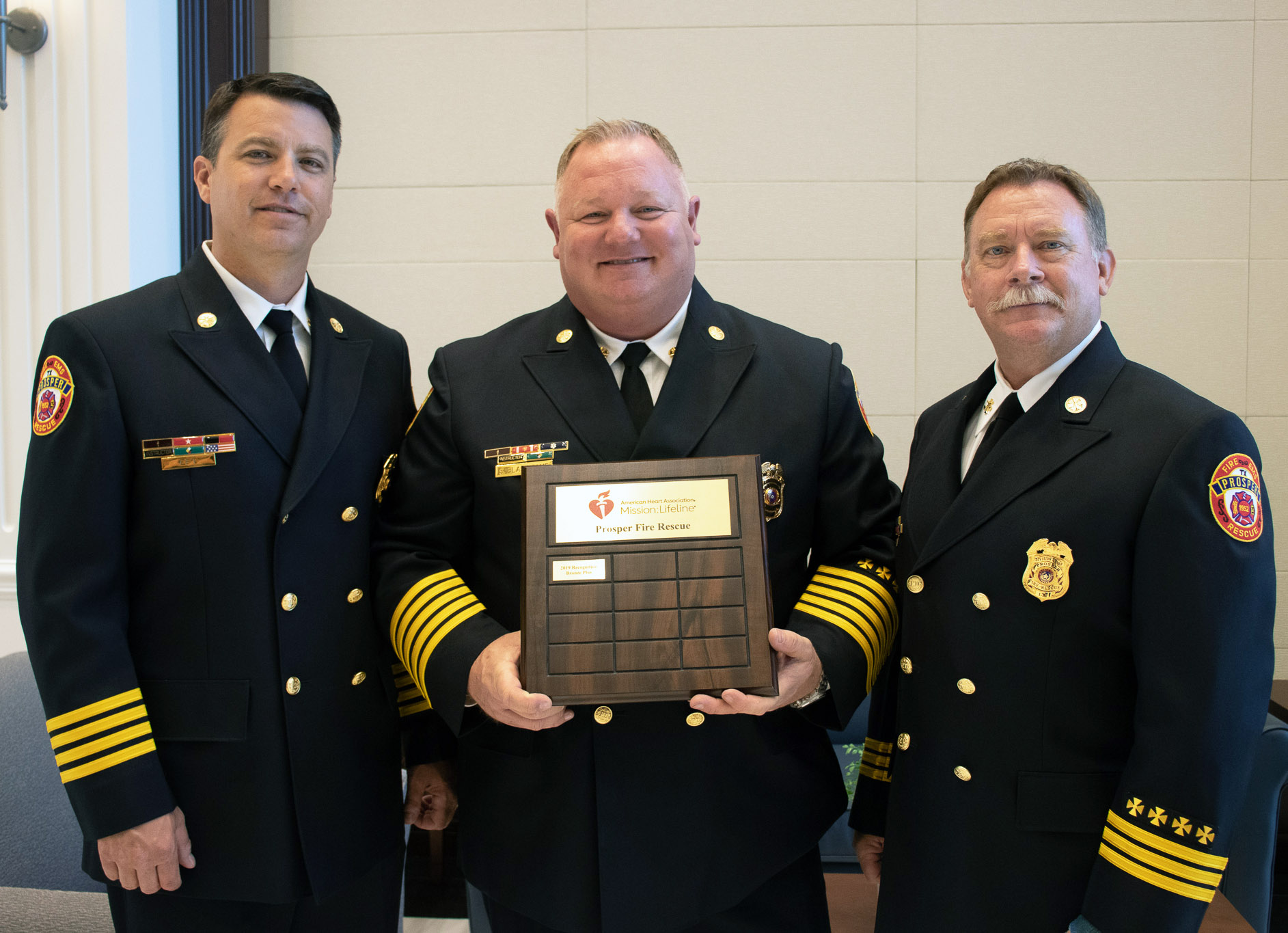 EMS wins national recognition for pre-hospital care