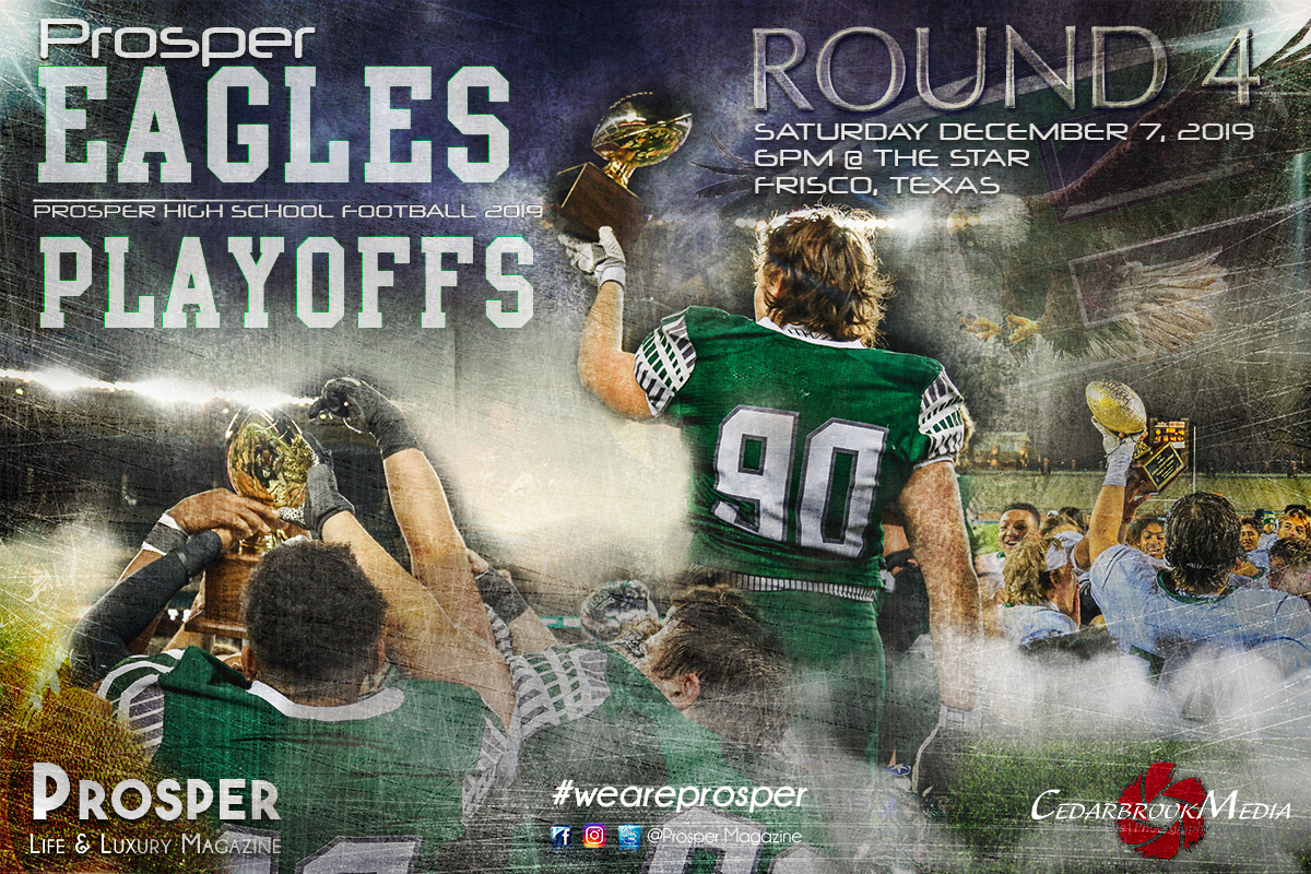 STATE QUARTERFINALS-  PHS vs Rockwall Saturday, December 7th, 6:00pm at The Star