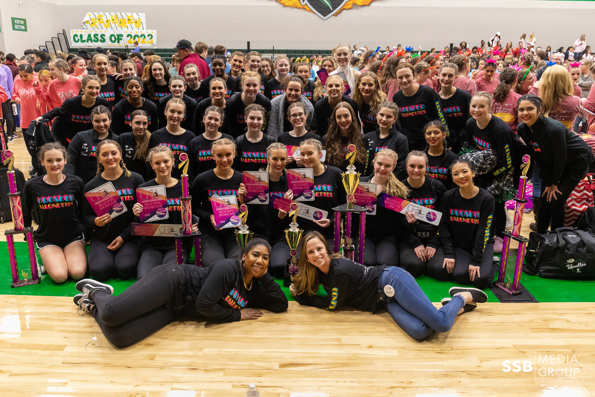 Prosper Talonettes Compete at Crowd Pleasers Dance Contest